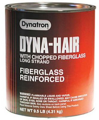 Dynatron Bondo 474  Dyna-Hair Long Strand, Gallon