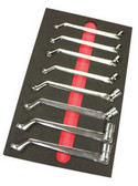 EZ Red SSWS Swivel Socket Wrench Set 8 Pc. Sae 75° Offset