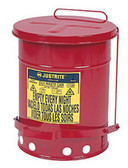 Justrite 09500 14 Gal Oily Waste Can