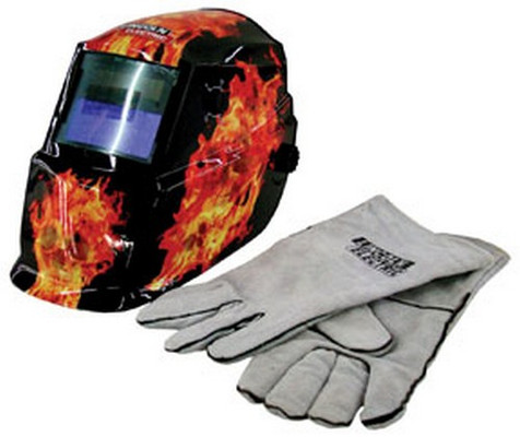 Lincoln Electric K2799-1 Dark Fire Skull with Gloves
