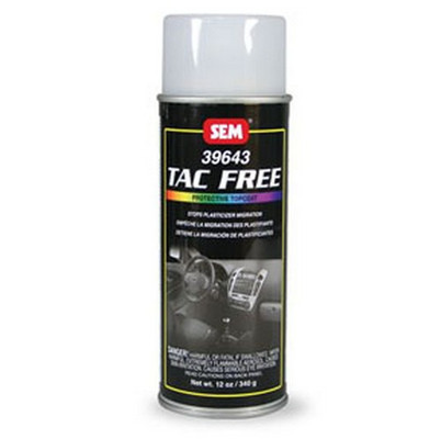 SEM Paints 39643 Tac Free, Clear - 16oz Aerosol Can