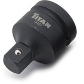 "Titan Tools 15227 1"" F x 3/4"" M Impact Socket Adapter"