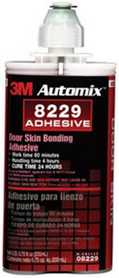 3M 8229 Automix™ Door Skin Bonding Adhesive 08229, 200 mL Cartridge, 6/cs