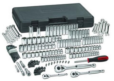 GearWrench 80932 165 pc. SAE/Metric 6 & 12 Pt. Mechanics Tool Set Multi Drive