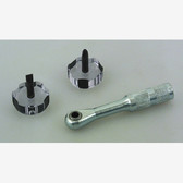 Lisle 64250 Right Angle Ratcheting Screwdriver Set