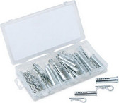Titan Tools 45359 Clevis Pin Assortment, 71Pc