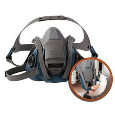 3M 49490 Rugged Comfort Quick Latch Half Facepiece Reusable Respirator