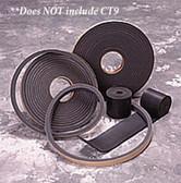 Air Filtration Co CT8 Door Gasket, 25'