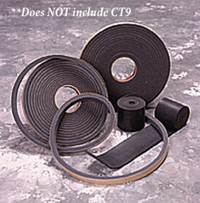 Air Filtration Co CT8 Door Gasket, 25'