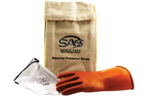 SAS Safety 6478 Electric Service Glove Kits, Large