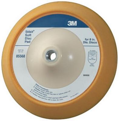 "3M 5568 Stikit™ Soft Disc Pad 05568, 8"""