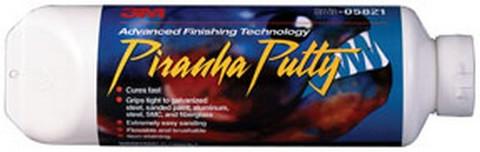3M 5821 Piranha™ Advanced Finishing Putty 05821, 24.0 fl oz Tube