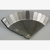 Lisle 68050 Valve Tappet Feeler Gauge Set .008 to .026, 11 Offset Blades