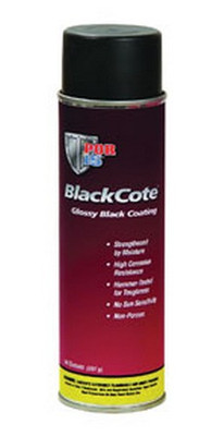 POR-15 41218 Blackcote - 14oz Spray