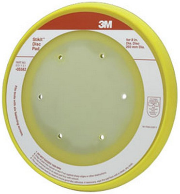 "3M 5582 Stikit™ Disc Pad 05582, 8"""