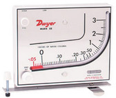 Air Filtration Co 250 Manometer for Spray Booths