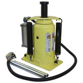 Esco Equipment 10450 YELLOW JACKIT 20 Ton Air/Hydraulic Bottle Jack
