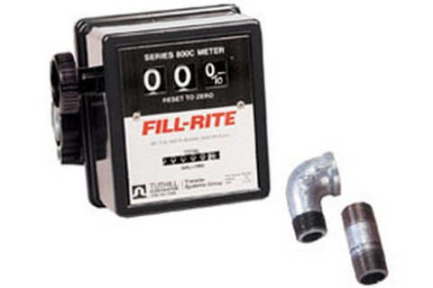 "Fill-Rite 807CMK 3-Wheel Mechanical, 3/4"" Meter"