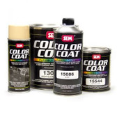 SEM Paints 15011-LV Color Coat - Low VOC Landau Black, Gallon Can