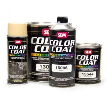 SEM Paints 15011-LV Color Coat - Low VOC Landau Black, Gallon Can
