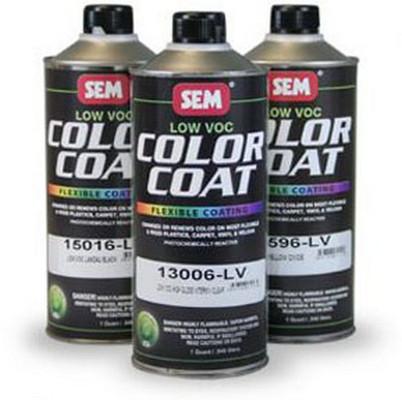SEM Paints 15516-LV Color Coat - Low VOC Fast Yellow, Cone Quart Can
