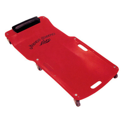 "Lisle 92102 Low Profile Plastic Creeper Red, 38"" L x 17-1/2"" W"