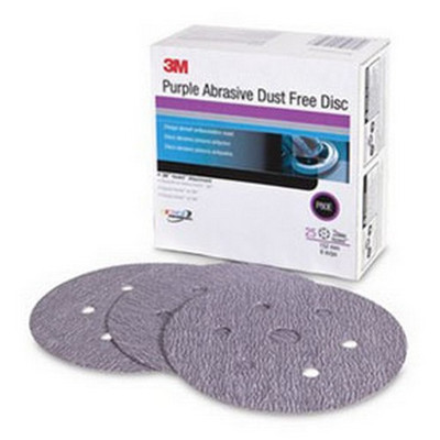 3M 30787 Purple Abrasive Disc Dust Free, 6 inch, 36E grade