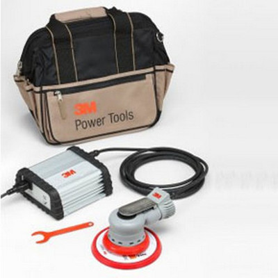 "3M 28526 6"" Electric Random Orbital Sander Kit- Non-Vacuum, 3/16"" Orbit"
