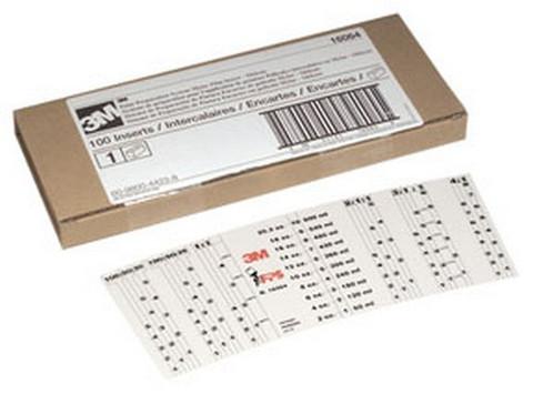 3M 16066 PPS™ Mix Ratio Mini Cup Insert, 10 inserts per bag