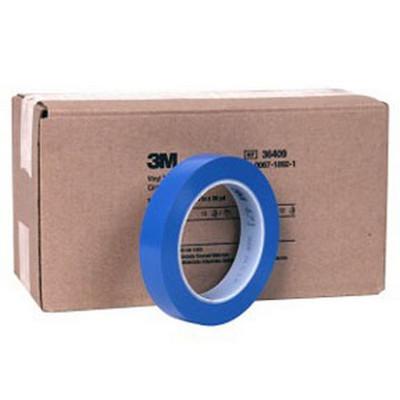 "3M 36409 Vinyl Tape 471 Blue, ¾"" x 36 yd"