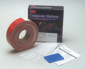 "3M 6398 Diamond Grade™ Conspicuity Marking Kit 983 PN 06398, 2"" x 25 yd"