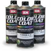 SEM Paints 15086-LV Color Coat - Low VOC Silver, Cone Quart Can