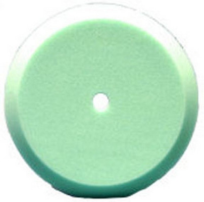 "Presta 890090FD 9"" Quik Pad Green Foam Light Cut Pad"