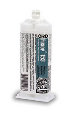 Lord Fusor 153 EXtreme Plastic Repair (On Demand Cure), 1.7 oz.