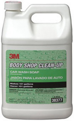 3M 38377 Body Shop Clean-Up™ Car Wash Soap 38377, 1 Gallon