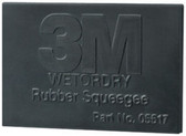 "3M 5518 Wetordry™ Rubber Squeegee 05518, 2"" x 3"""