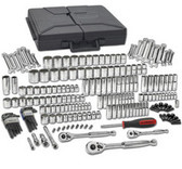GearWrench 80933 216 pc. SAE/Metric 6 & 12 Pt. Mechanics Tool Set Multi Drive