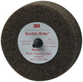 "3M 7410 Scotch-Brite™ Rivet Cleaning Disc 07410, 4"" x 1 1/4"""
