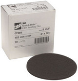 "3M 7468 Scotch-Brite™ Scuffing Disc Ultra Fine 07468, 6"", 10 discs/bx"