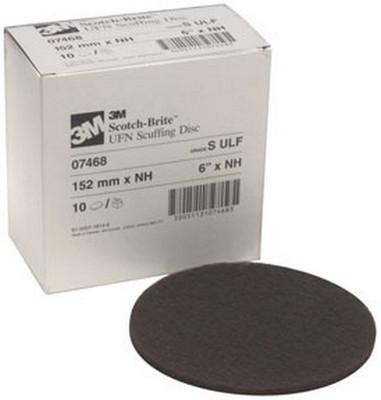 """3M 7468 Scotch-Brite™ Scuffing Disc Ultra Fine 07468, 6"""", 10 discs/bx"""