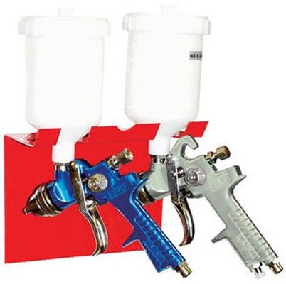 AES Industries 166 Magnetic Spray Gun Holder - Dual