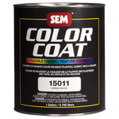 SEM Paints 15011 Color Coat- Landau Black, 1-Gallon Can