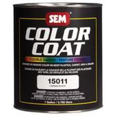 SEM Paints 15011 Color Coat- Landau Black, 1-Gallon Can