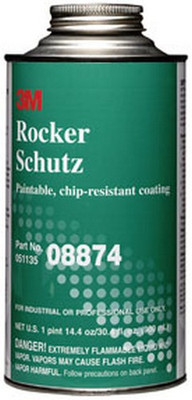 3M 8874 Rocker Schutz™ Coating 08874, 1 Quart