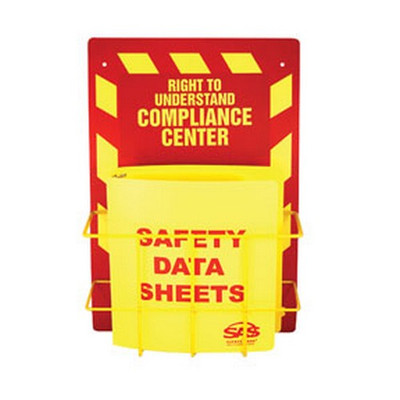 SAS Safety 6000-75 MSDS Compliance Center, Wall Mount