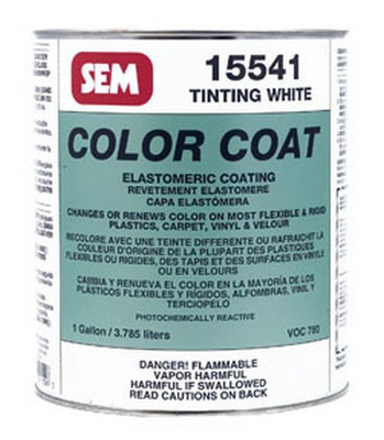 SEM Paints 15541 Color Coat-Tinting White, 1-Gallon Can