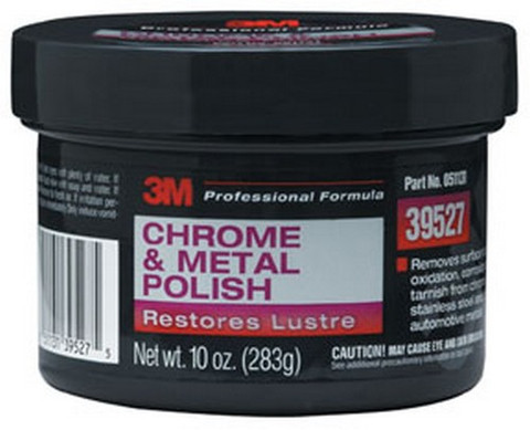 3M 39527 Chrome and Metal Polish 39527, 8 oz Net Wgt