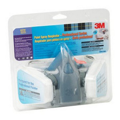 3M 37083 Half Facepiece Reusable Respirator, Respiratory Protection, Large
