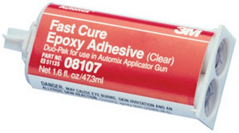 3M 8107 Automix™ Fast Cure Epoxy Adhesive 08107, 2 oz pack