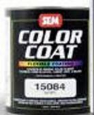 SEM Paints 15014 Color Coat- Landau Black, 1-Quart Can